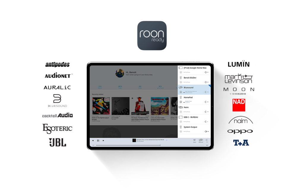 Les appareils Roon Ready (compatibles)