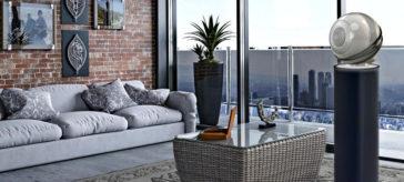 The Pearl par Cabasse dans un appartement design.