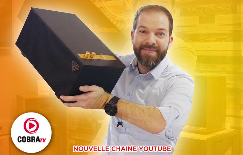 Une enceinte sans fil à gagner sur la nouvelle chaîne YouTube Cobra TV !
