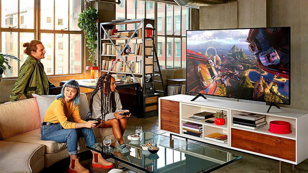 Dès l'entrée de gamme, Samsung propose des TV QLED performants