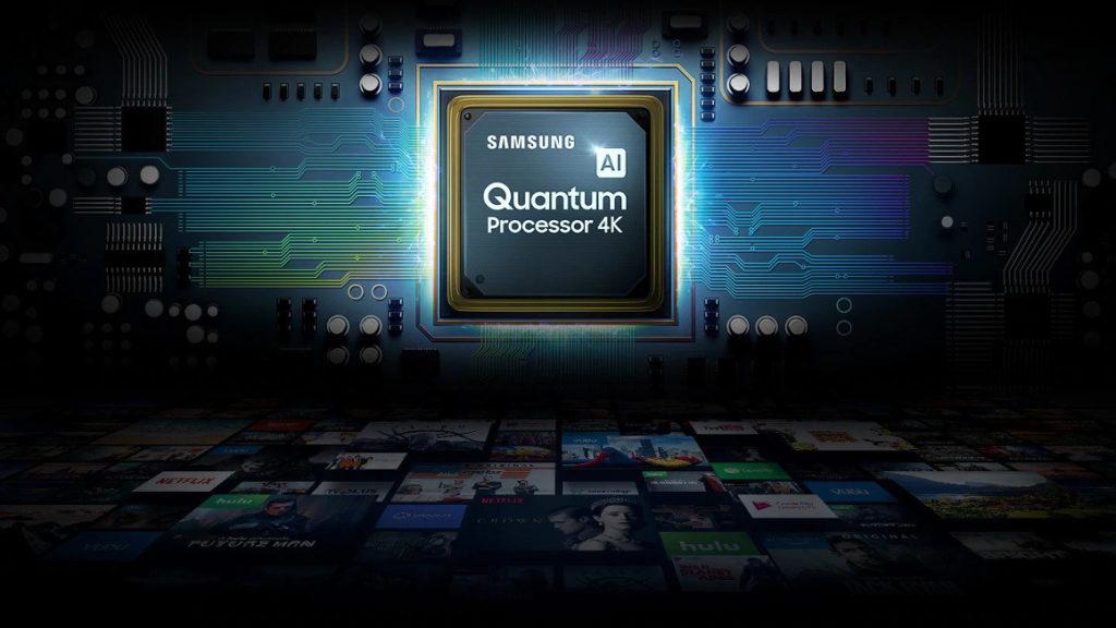 LEs TV QLED 2019 adoptent le nouveau processeur Quantum 4K