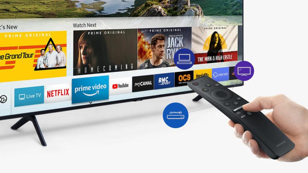 Des contenus par milliers sur votre Smart TV QLED 2019