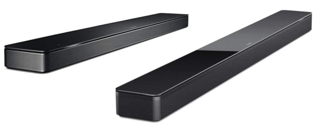 Les deux enceintes Bose, en coloris noir.