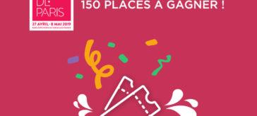 150 places à gagner pour la foire de Paris !
