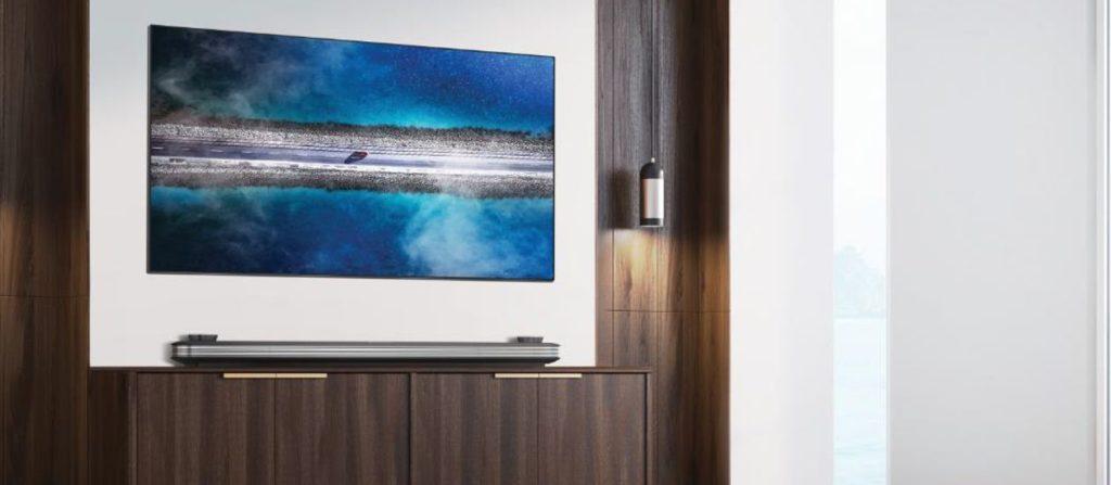 TV OLED LG 2019 série W9