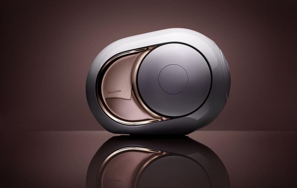 Enceinte sans fil & multiroom Devialet Phantom Gold