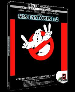 """SOS Fantômes 1 & 2 (Ghostbusters & Ghostbuster II"" - 1987  - 1989"