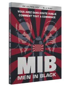 """Men in Black"" - 1997 - Blu-ray uhd 4k"