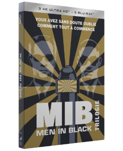 """Men in Black Trilogie"" - 1997 à 2012 - Blu-ray uhd 4k"