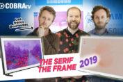 TV design Samsung The Frame et The Serif