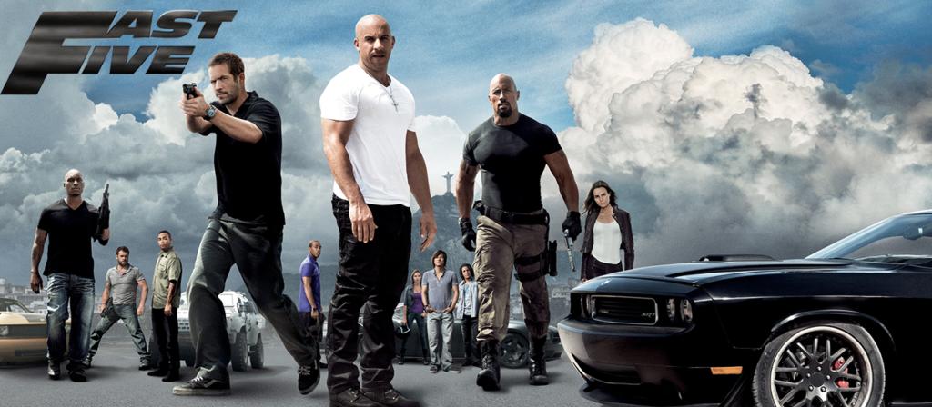 Bannière - Fast & Furious 5 (Fast Five) - 2011