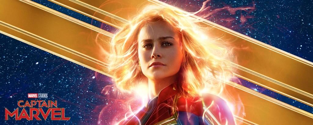 Bannière Captain marvel (2019)