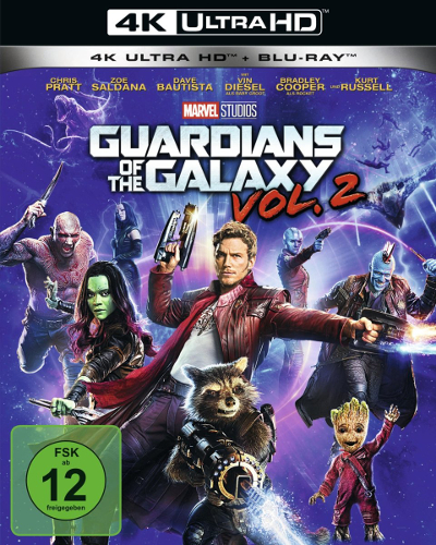 Guardians Of The Galaxy Vol.2 : le meilleur Blu-ray 4K pour tester votre TV ?