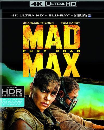 Mad Max Fury Road : le meilleur Blu-ray 4K pour tester votre TV ?