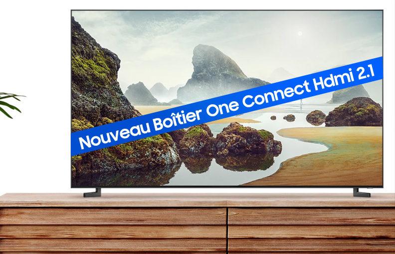 One Connect HDMI 2.1 : obtenez gratuitement le nouveau boîtier déporté Samsung pour Q900R