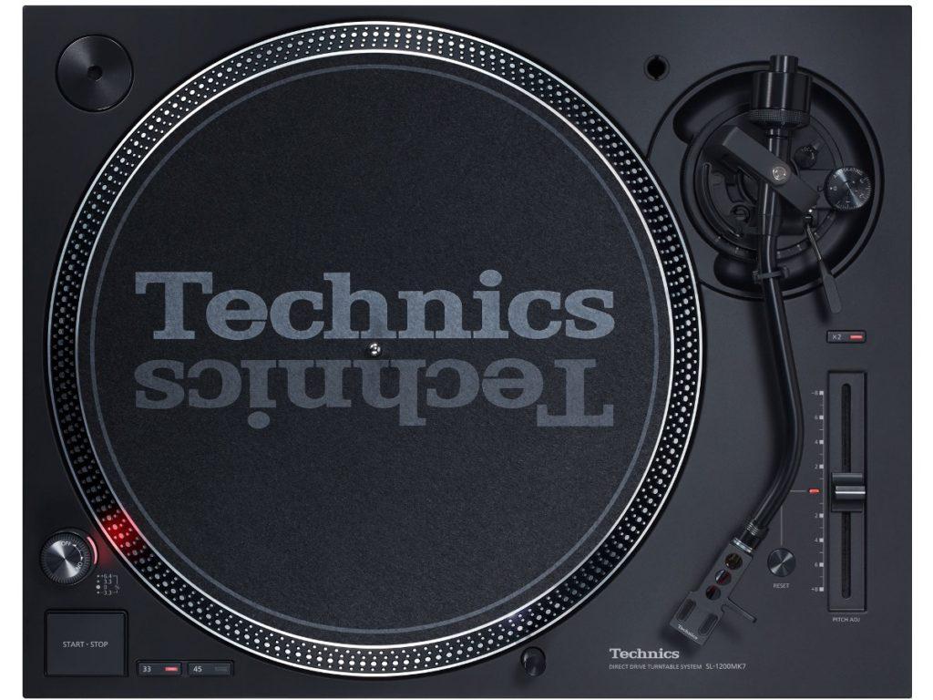 Platine vinyle Technics SL-1200MK7