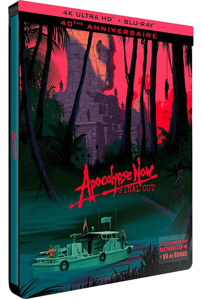 Apocalypse Now (1979) - Blu-ray 4K - Sources : Pathé Distribution