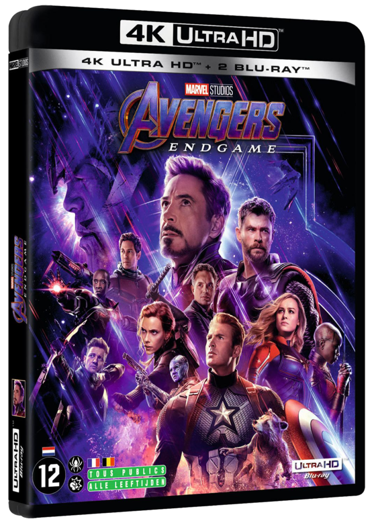 Avengers : Endgame (2019) -  Blu-ray UHD 4K - Sources : Marvel Studio