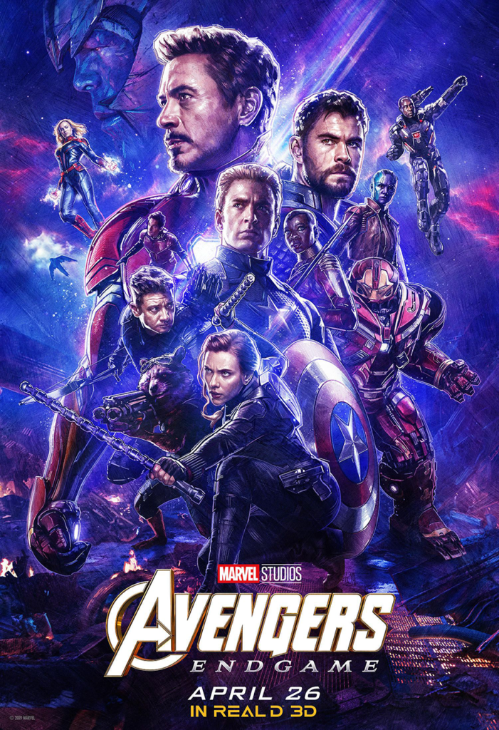 Avengers : Endgame (2019) - Poster - Sources : Marvel Studio