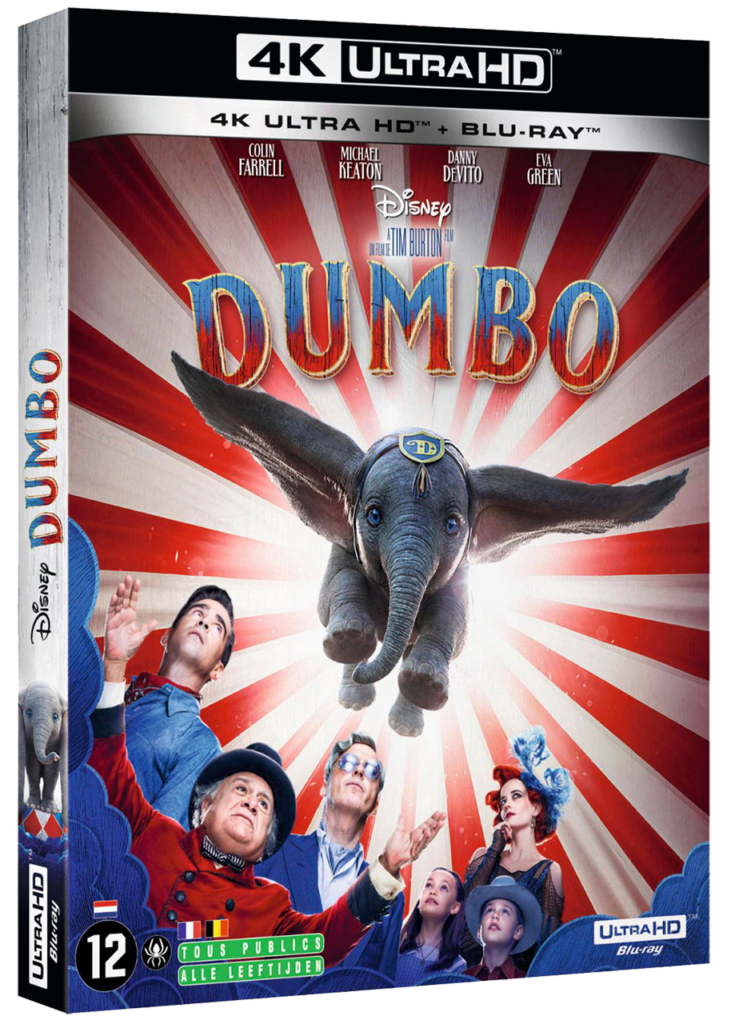Dumbo (2019) - Blu-ray UHD 4K - Sources : Disney Studio