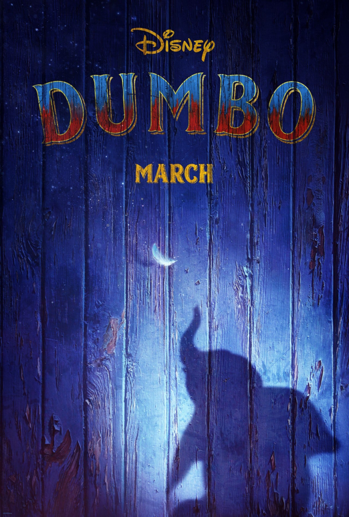Dumbo (2019) - Poster- - Sources : Disney Studio
