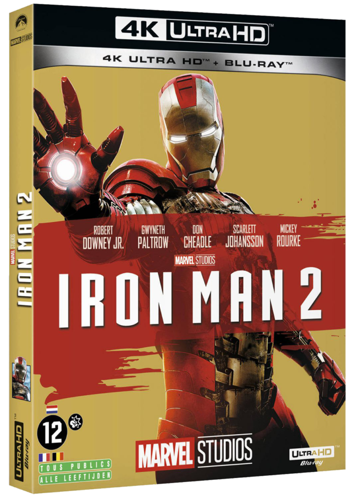 Iron Man 2 (2010) - Blu-ray 4k - Sources : Marvel Studio