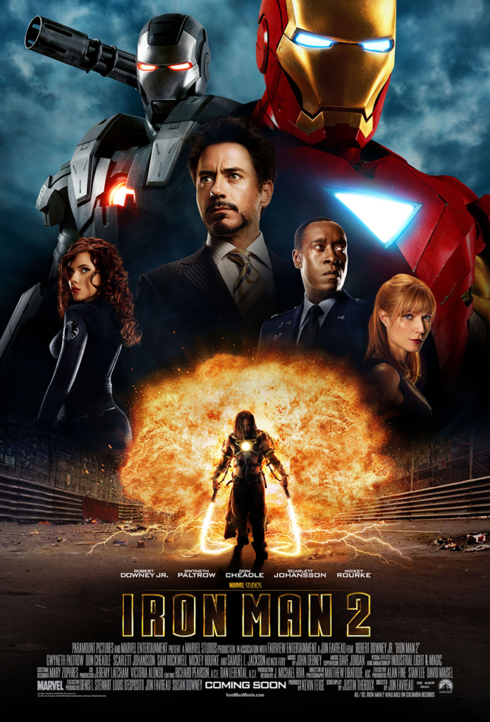 Iron Man 2 (2010) - Poster - Sources : Marvel Studio
