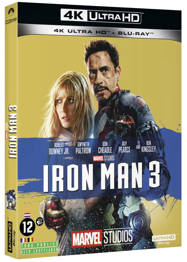 Iron Man 3 - Blu-ray 4k - Sources : Marvel Studio