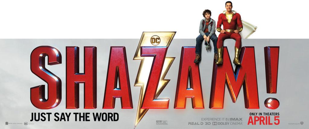 Shazam! (2019) - bannière - Sources : Warner Bros