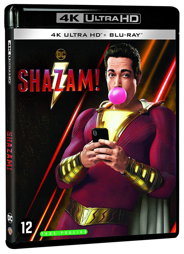 Shazam! - Bubblegum -Blu-ray -4K - Sources : Warner Bros