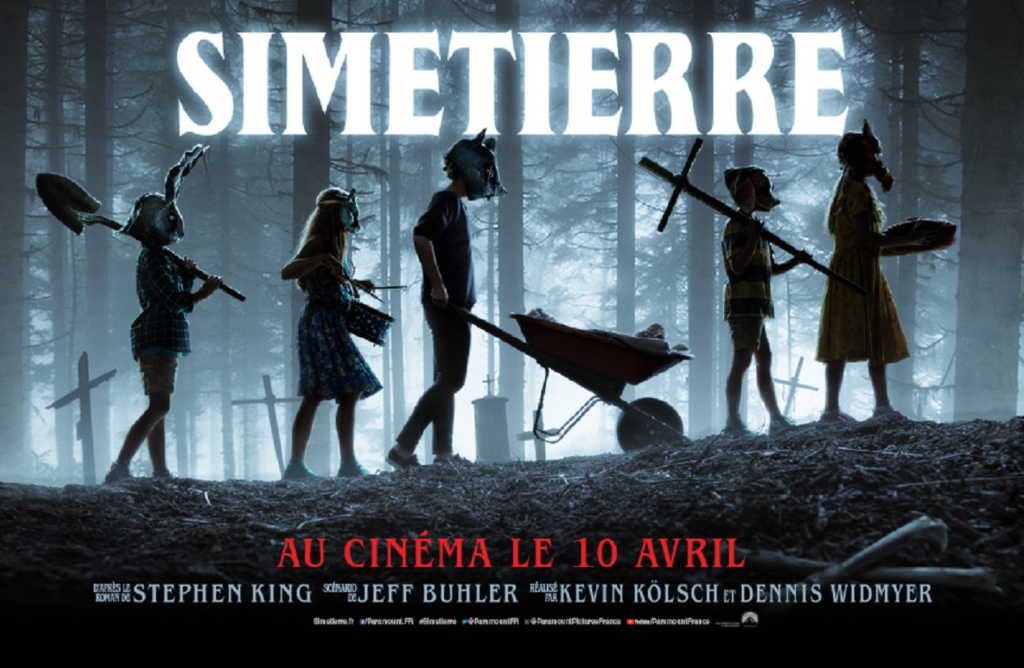 Simetierre -Pet Semetary (2019)  - Bannière - Sources : Simetierre - Pet_Semetary (2019) - Blu-ray - Sources : Simetierre - Pet Semetary - Poster - Sources : Paramount Pictures