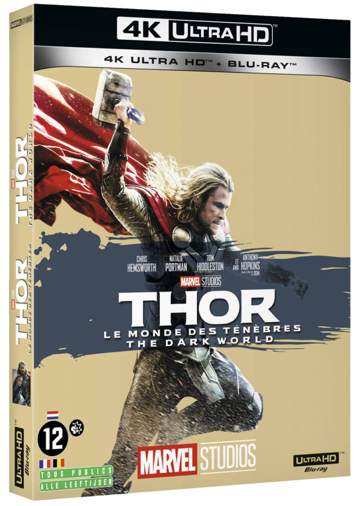 Thor (2) - The Dark World - Blu-ray 4k - Sources : Marvel Studio