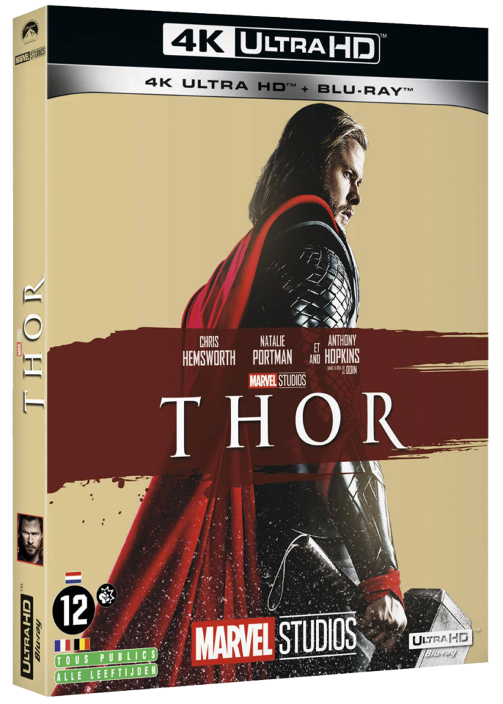 Thor (2011) - Blu-ray 4k - Sources : Marvel Studio