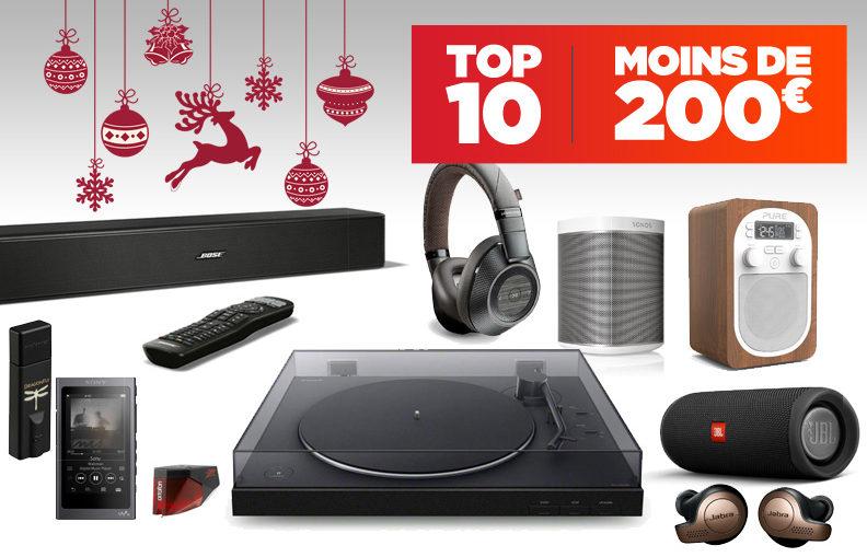 Top 10 des meilleures idées cadeaux pour Noël en Image & Son