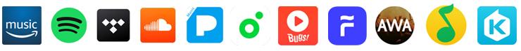 Les applications compatibles avec les baladeurs Astell & Kern dotés d'Open App Service