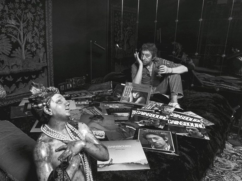 Serge Gainsbourg vu par l'oeil de Tony Franck