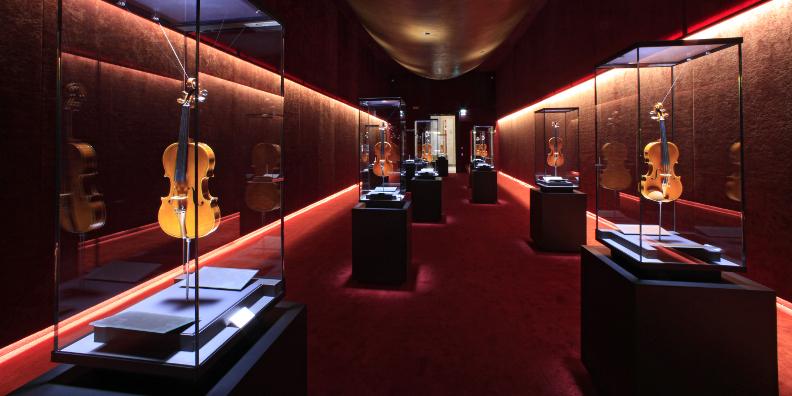 La salle numéro 5 du Museo Del Violino