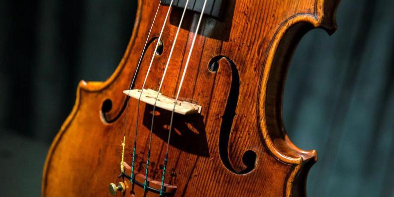 Un violon conçu par Antonio Stradivari