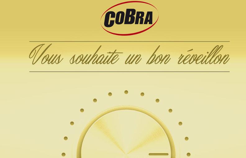 Cobra vous souhaite un bon réveillon