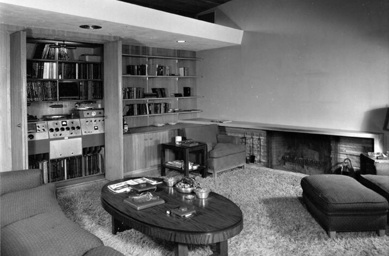 Le système Hi-Fi de Frank Sinatra en 1949