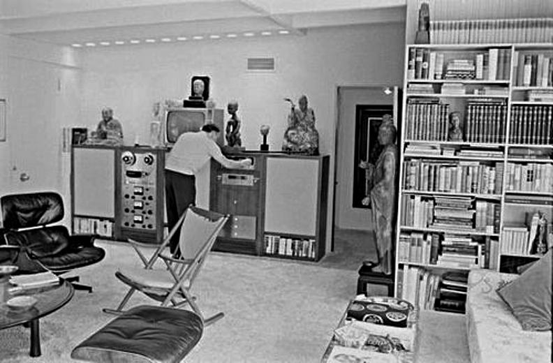 Le système Hi-Fi de Frank Sinatra en 1965