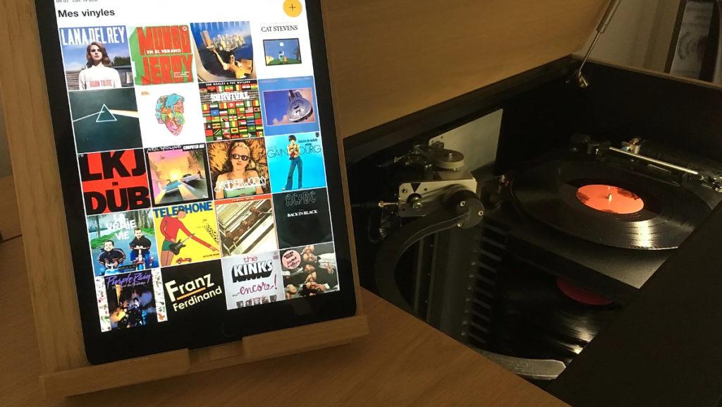 Pilotez votre système grâce à l'application Disquenoir pour iOS