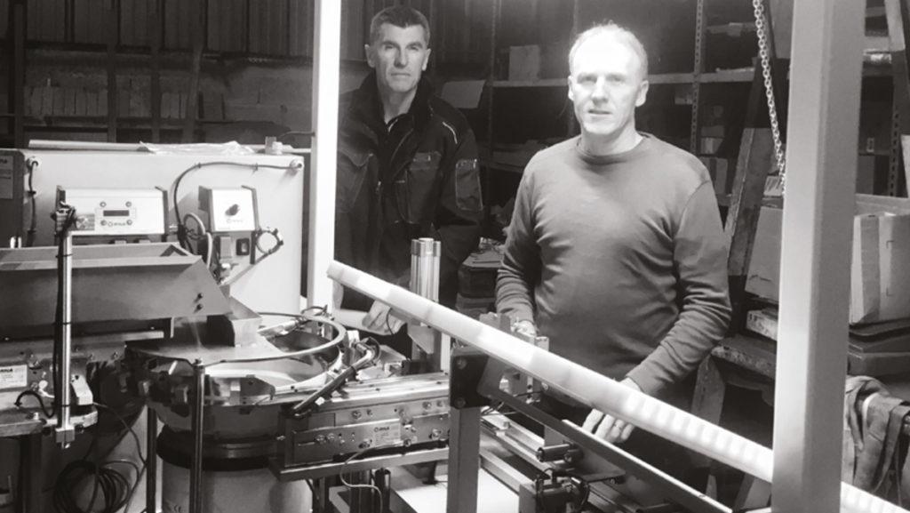 Visite de l'atelier de mécatronique