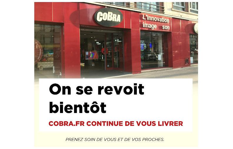 Informations sur le Covid-19 et sur les magasins Cobra