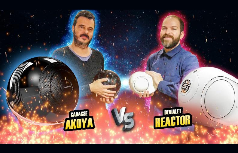 Cobra TV : vidéo Cabasse Akoya VS Devialet Reactor ... Fight !