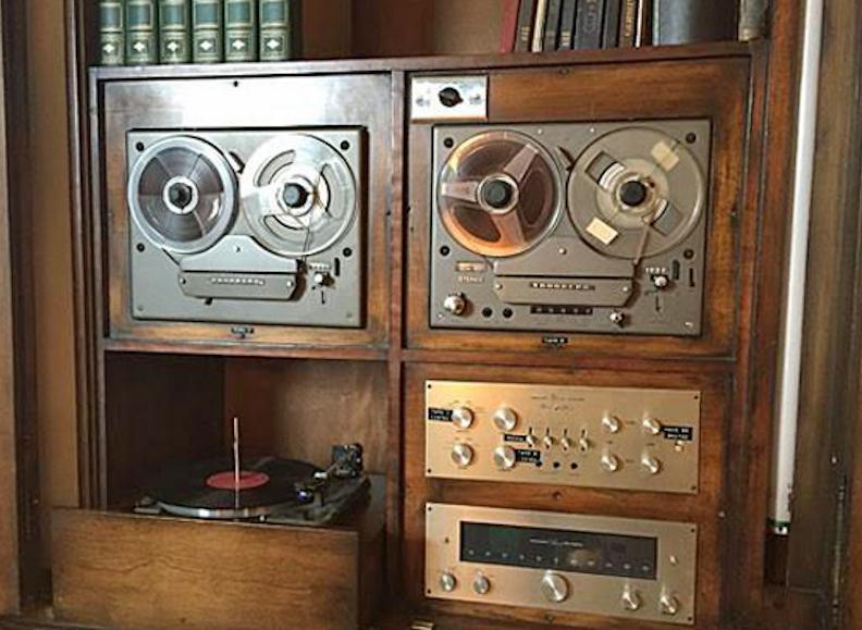 Le système Hi-Fi est préservé au sein du Louis Armstrong House Museum (Robert Baird, Stereophile, 2016)
