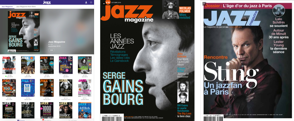 Téléchargez l'application : abonnement offert à Jazz Magazine + 1 an d'archives