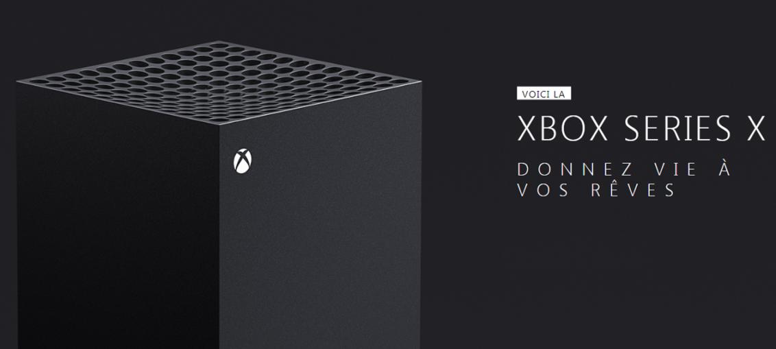 Console Xbox Series X - une - (crédits : Xbox)
