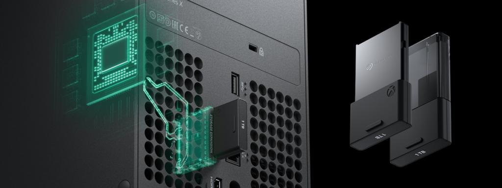 La console Xbox Series X - Extension Stockage (crédits : Xbox)
