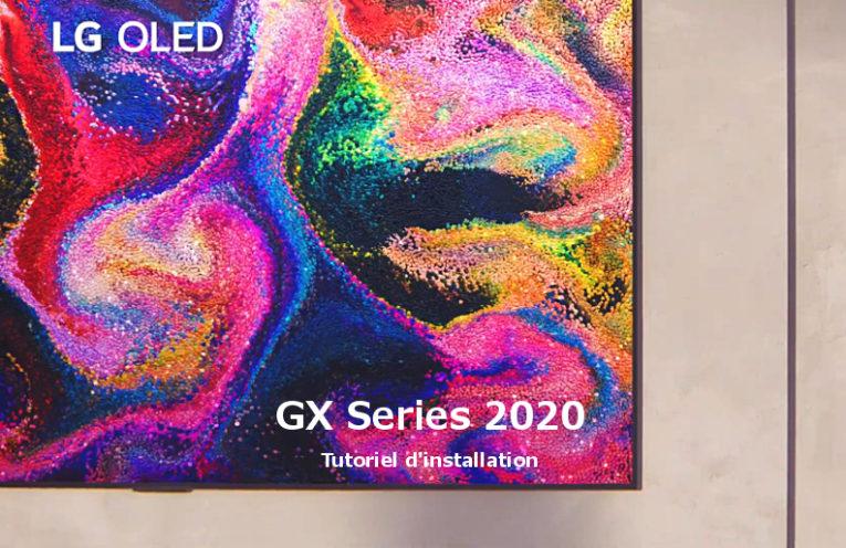 Comment installer votre TV OLED GX (Gallery Design)